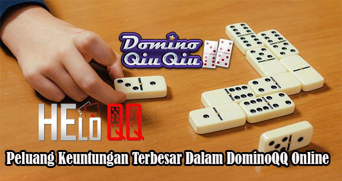 Peluang Keuntungan Terbesar Dalam DominoQQ Online